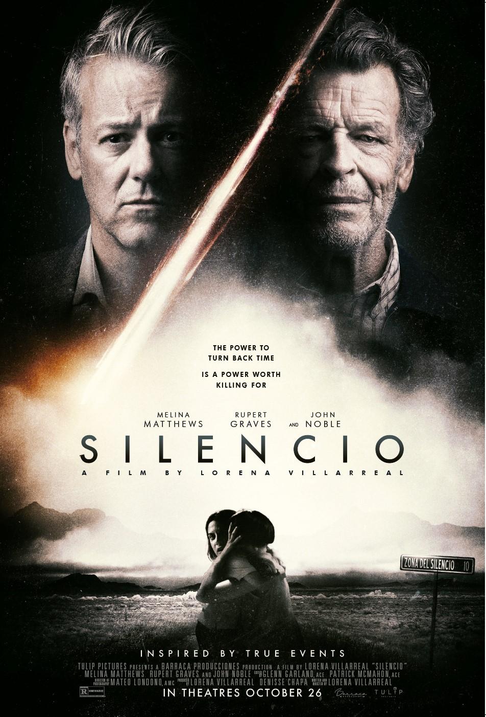 SILENCIO Release Poster