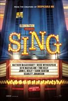 SING Blu-ray Cover