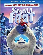 SMALLFOOT Blu-ray Cover