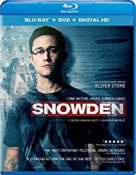 SNOWDEN Blu-ray Cover