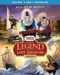SODOR'S LEGEND OF THE LOST TREASURE THE MOVIE Blu-ray Cover