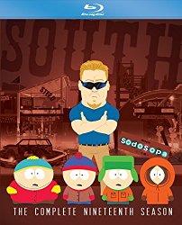 SOUTH PARK SEASON NINETEEN Blu-ray Cover