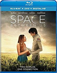 THE SPACE BETWEEN US Blu-ray Cover