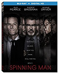 Spinning Man Blu-ray Cover