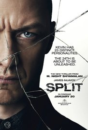 SPLIT Blu-ray Cover