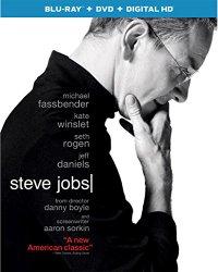 STEVE JOBS Blu-ray Cover