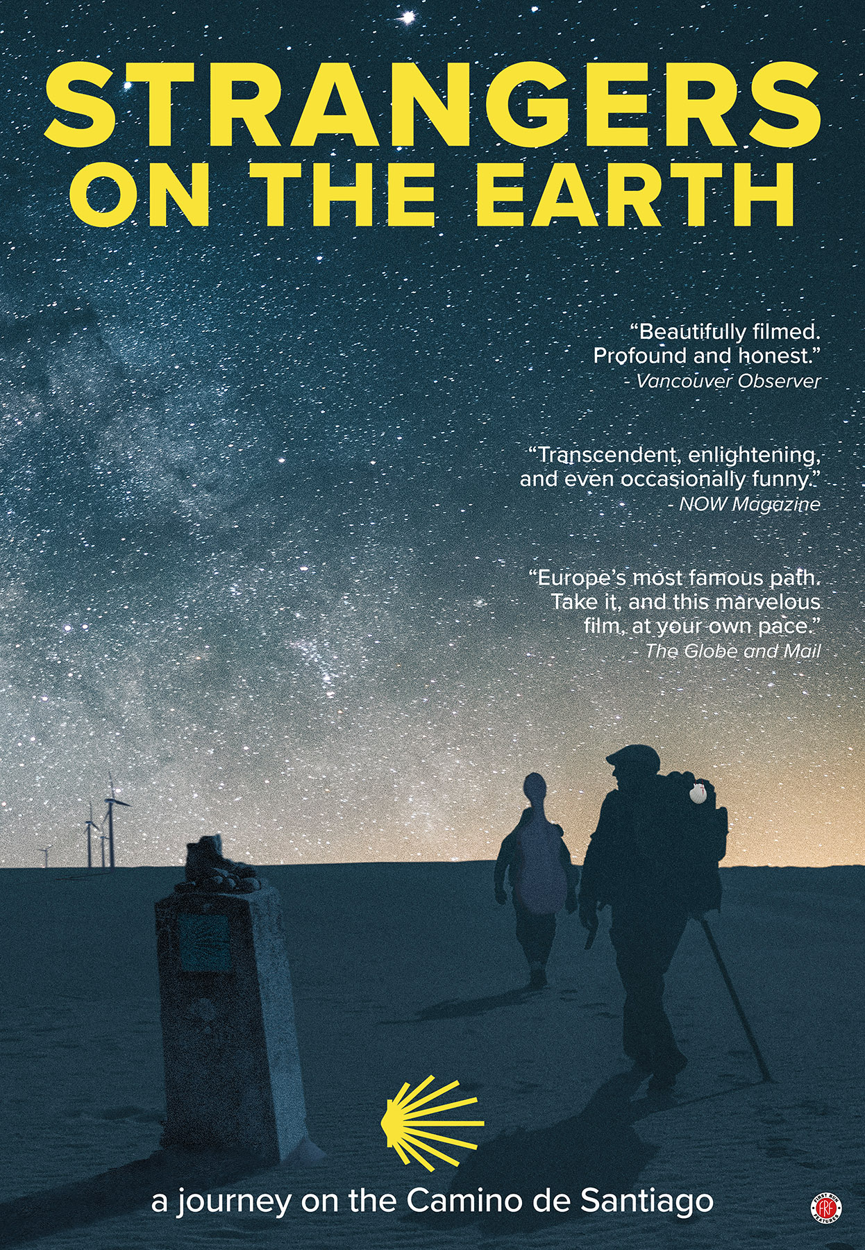 STRANGERS ON THE EARTH Release Poster