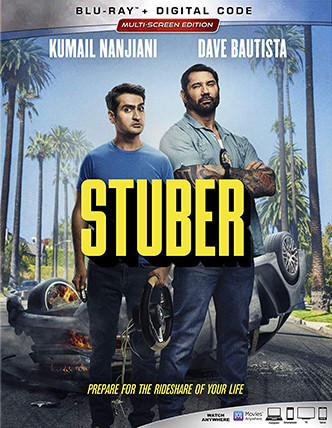 STUBER Release Poster