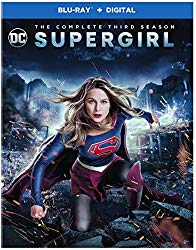 Supergirl Season 3 Blu-ray Cover