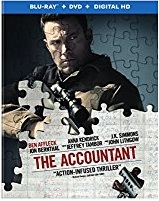 THE ACCOUNTANT Blu-ray Cover