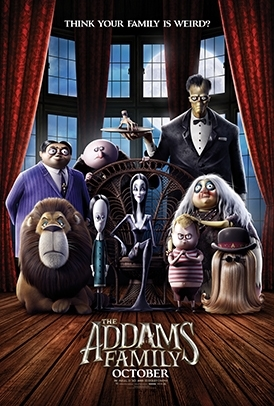 THE ADDAMS FAMILY Release Poster
