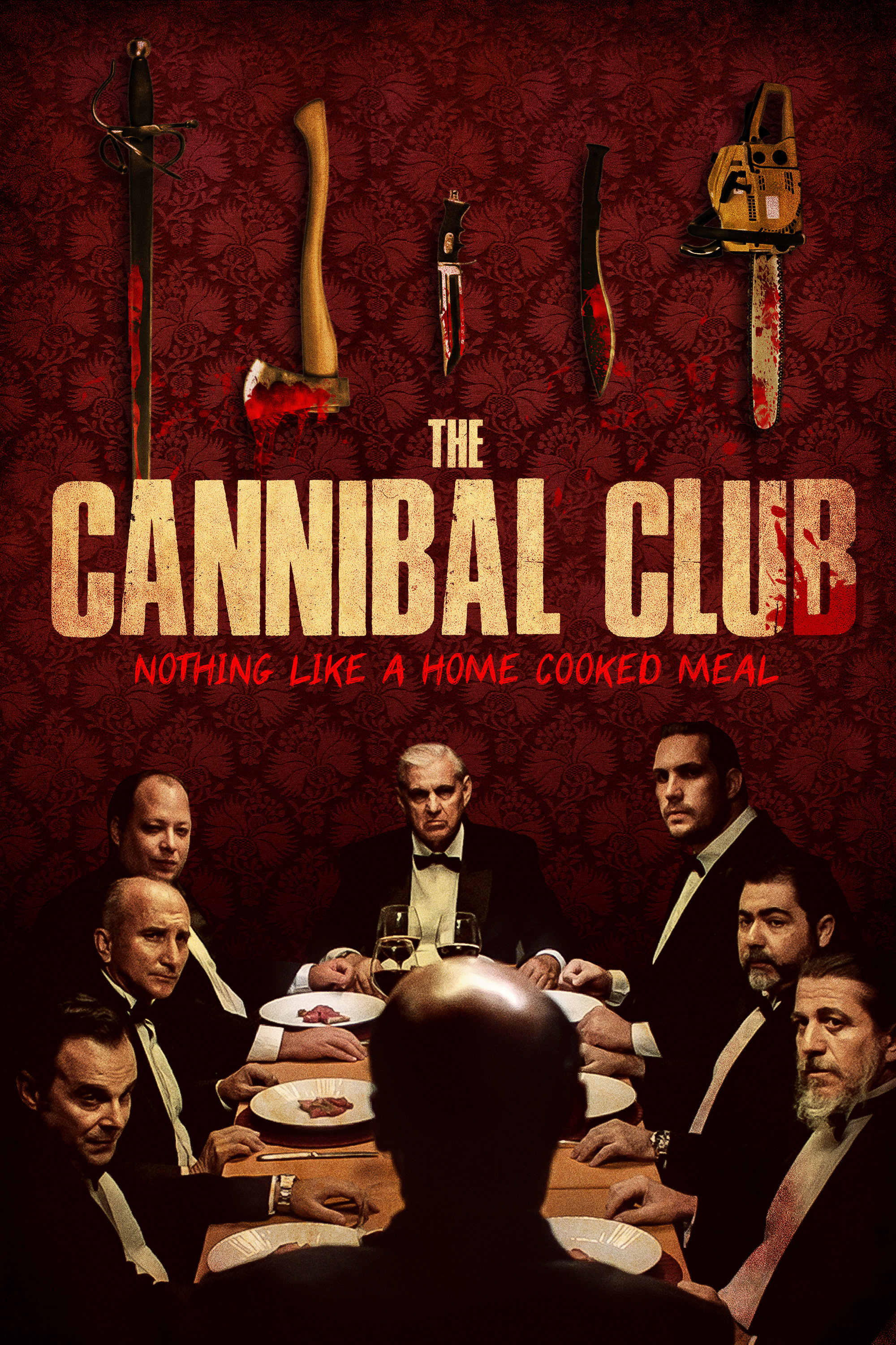 THE CANNIBAL CLUB  Release Poster