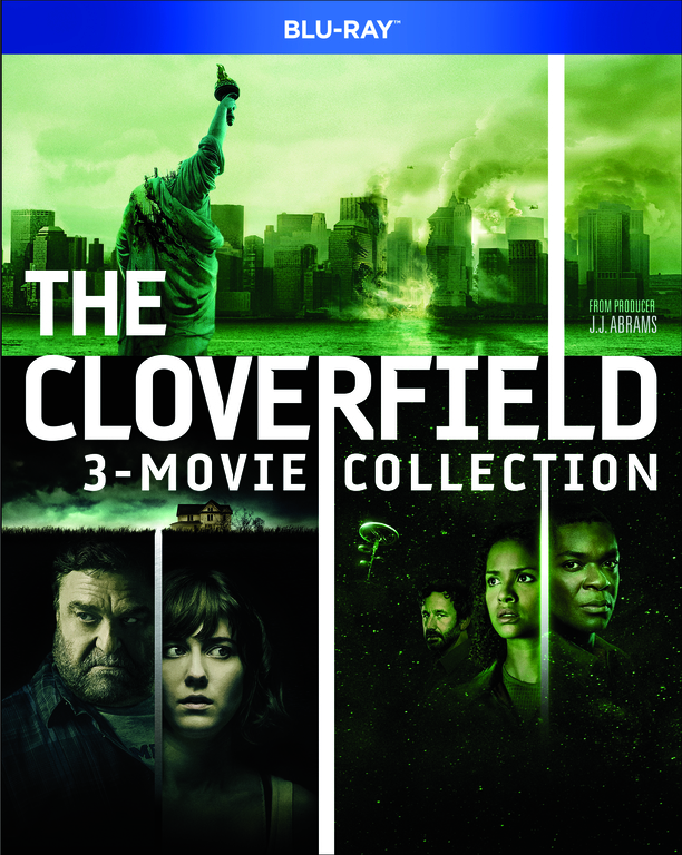 THE CLOVERFIELD PARADOX Blu-ray Cover