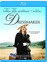THE DRESSMAKER Blu-ray Cover