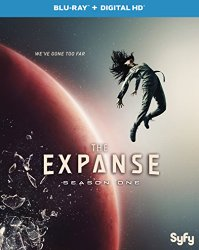 THE EXPANSE SEASON ONE Blu-ray Cover