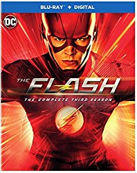 THE FLASH SEASON THREE Blu-ray Cover