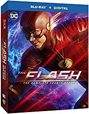 The Flash Season 4 Blu-ray Cover