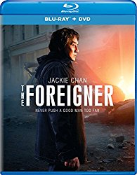 THE FOREIGNER Blu-ray Cover