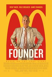 THE FOUNDER Blu-ray Cover