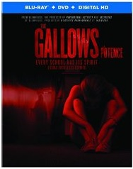 THE GALLOWS Blu-ray Cover
