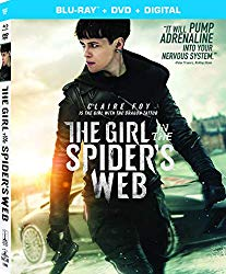 THE GIRL IN THE SPIDER'S WEB  Release Poster