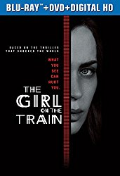 THE GIRL ON THE TRAIN Blu-ray Cover