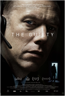 THE GUILTY Release Poster