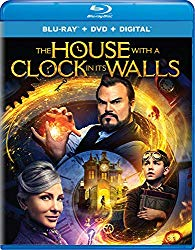 THE HOUSE WITH A CLOCK IN ITS WALLS  Release Poster
