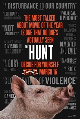 THE HUNT Release Poster