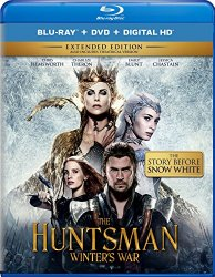 THE HUNTSMAN WINTER'S WAR Blu-ray Cover