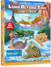 THE LAND BEFORE TIME: JOURNEY OF THE BRAVE Blu-ray Cover