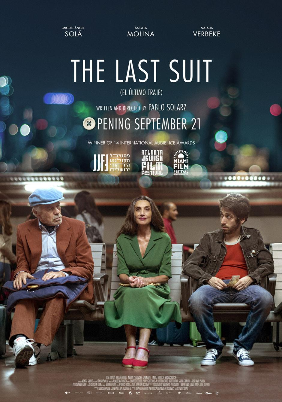 THE LAST SUIT Release Poster