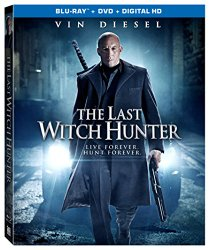 THE LAST WITCH HUNTER DVD Cover