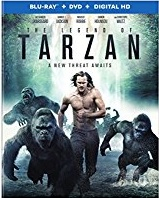 THE LEGEND OF TARZAN Blu-ray Cover