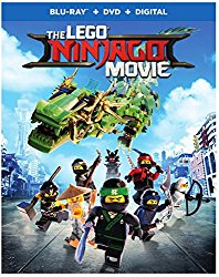 THE LEGO NINJAGO MOVIE Blu-ray Cover