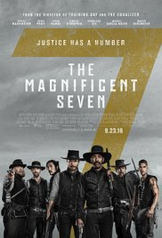 THE MAGNIFICENT SEVEN  Release Poster