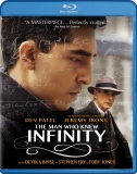 THE MAN WHO KNEW INFINITY Blu-ray Cover
