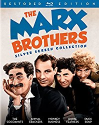 THE MARX BROTHERS SILVER SCREEN COLLECTION Blu-ray Cover