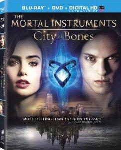 The Mortal Instruments City of Bones Blu-ray
