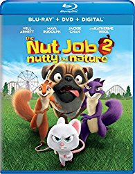 THE NUT JOB 2: NUTTY BY NATURE Blu-ray Cover