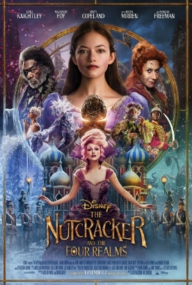 THE NUTCRACKER AND THE FOUR REALMS Release Poster
