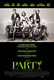 THE PARTY Release Poster