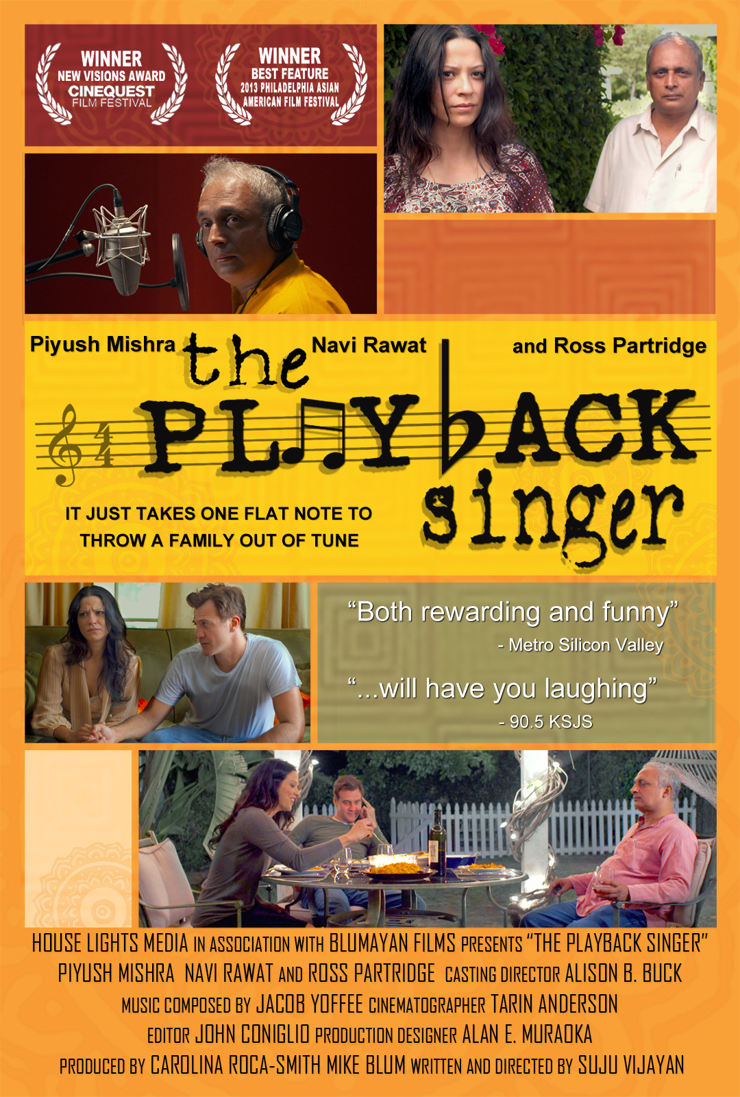 THE PLAYBACK SINGER Movie Poster
