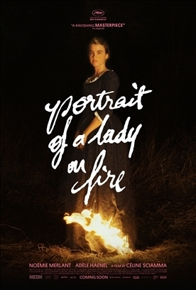 PORTRAIT OF A LADY ON FIRE Release Poster