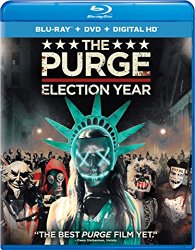 THE PURGE ELECTION YEAR Blu-ray Cover
