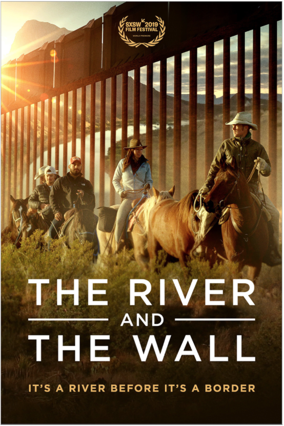 THE RIVER AND THE WALL Release Poster