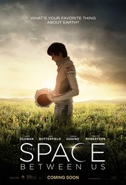 THE SPACE BETWEEN US Release Poster