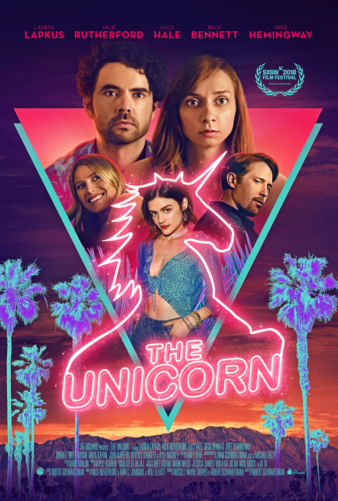 THE UNICORN  Release Poster