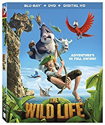 THE WILD LIFE Blu-ray Cover
