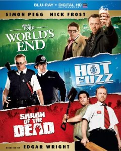 THE WORLD'S END / HOT FUZZ / SHAWN OF THE DEAD TRILOGY Blu-ray